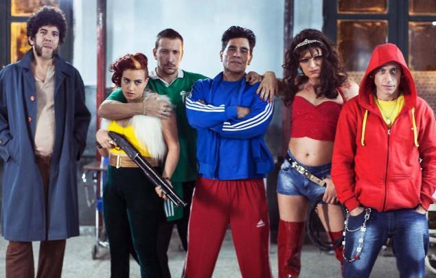 """Os super-heróis do argentino """"Kryptonita"""" (Foto: divulgação)"""