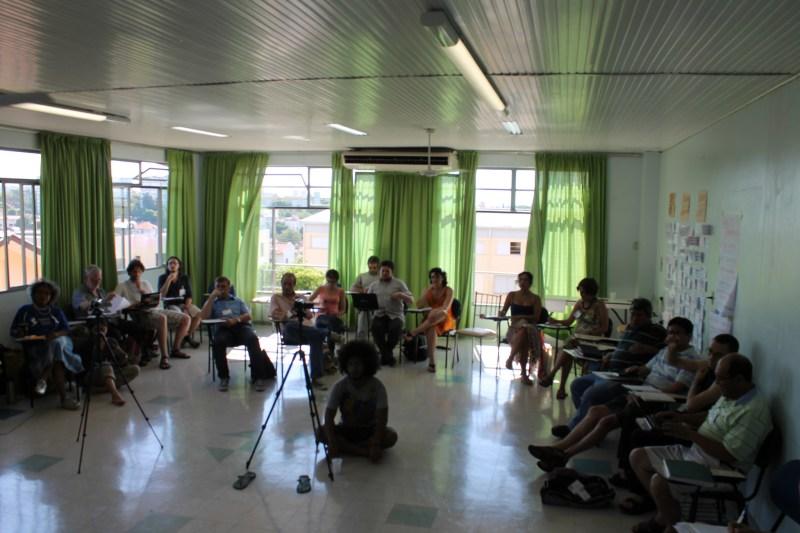 Oficina realizada em Porto Alegre pela Universidade Popular dos Movimentos Sociais (foto: divulgação)