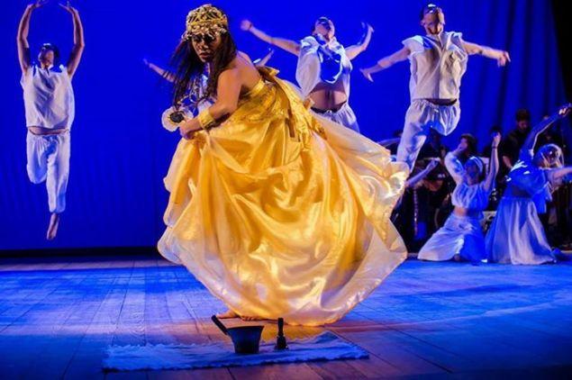 Brasileirada, um espetáculo de dança (Foto: divulgação)
