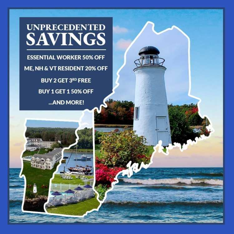 Hotels with Maine resident specials