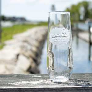 Kennebunkport resort champagne glass