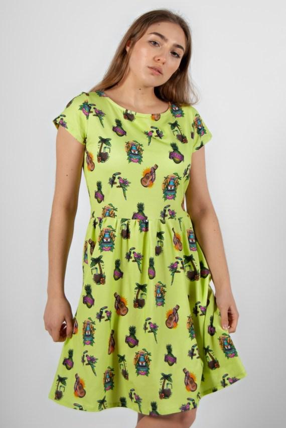 vestido estampado 22