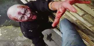 parkour inseguito zombie