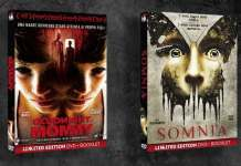 Somnia Goodbye Mommy DVD Blu-ray home video Limited Edition