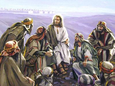 gesu parla ai discepoli