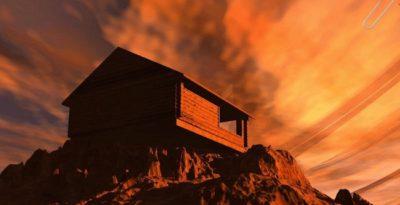 casa sulla roccia