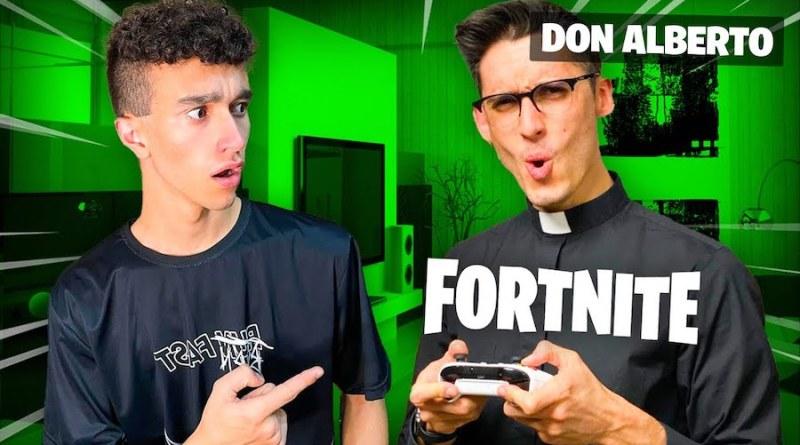 don alberto gioca videogiochi