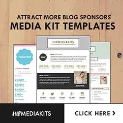 attract more blog sponsors media kit templates that will help you earn more