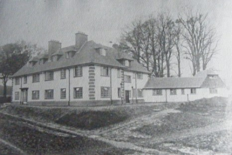 The new Fredville mansion, 1926