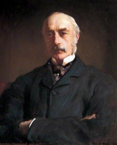 William Oxenden Hammond, born in 1817, died in 1903. A land-owner, banker and magistrate. This 1883 portrait hangs in the Beaney Institute, Canterbury.