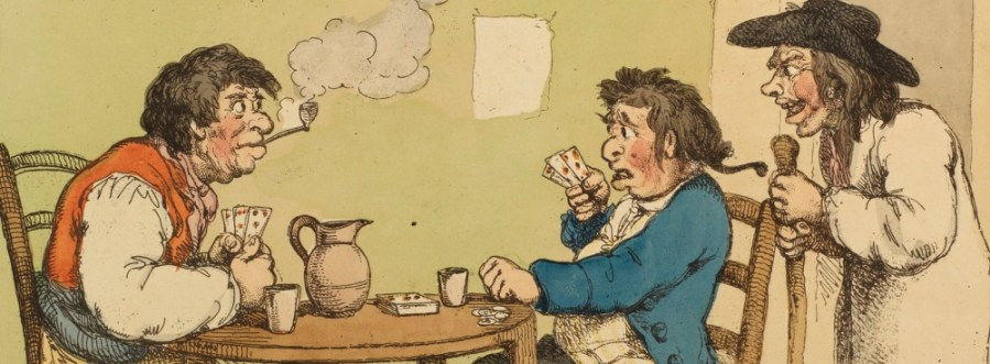 A game of Put in an alehouse, c1799