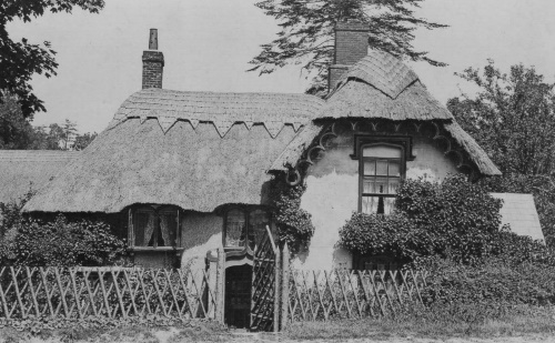 Frogham Cottage from the road, early 1900's.