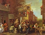 1755 election canvassing for votes