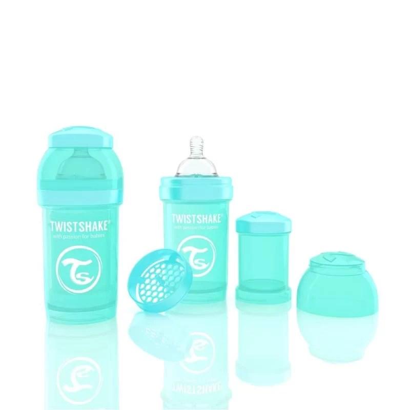 Biberon Twistshake Anti – Colici 180 ml Turcoaz