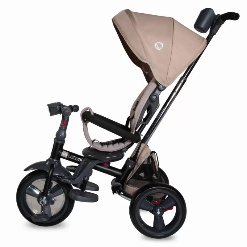 Tricicleta-multifunctionala-4in1-cu-sezut-reversibil-Coccolle-Velo-Bej-3