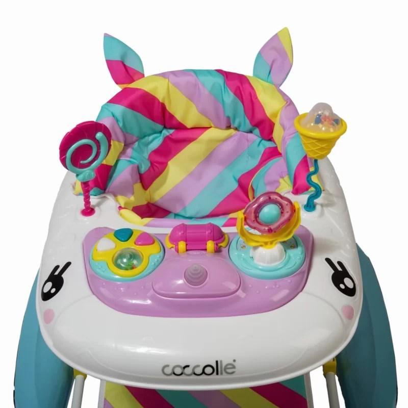 Premergator-cu-balansoar-Coccolle-Unicorn-2