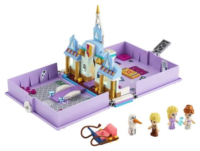 LEGO Aventuri din cartea de povesti cu Anna și Elsa
