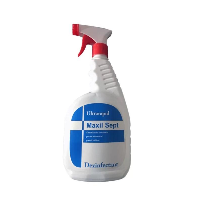 Dezinfectant suprafete, Maxil Sept, Ultra Rapid, 1 l