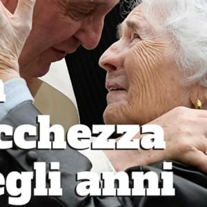 Papa Francesco e gli anziani