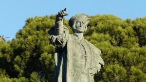 Rapallo monumento a Cristoforo Colombo