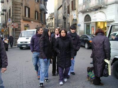 Braccio sinistro di Paolo, Francesco, Laura, Valentina, Gabriella e Francesco