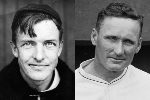 Christy Mathewson and Walter Johnson