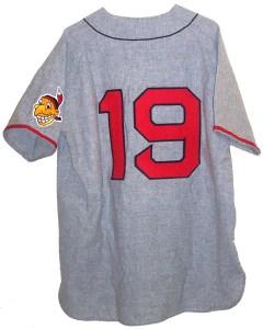 Bob Feller's No 19 jersey