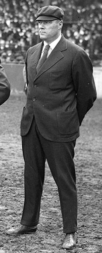 Bill Dinneen in 1916 as an umpire.