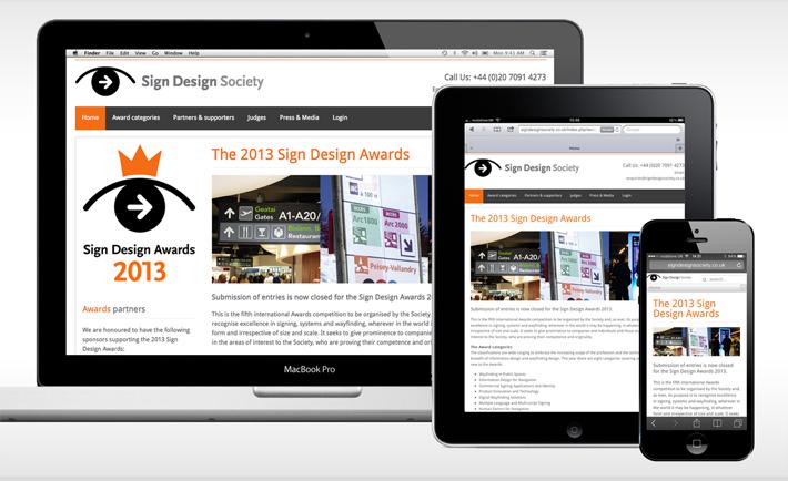 SDS Awards screens