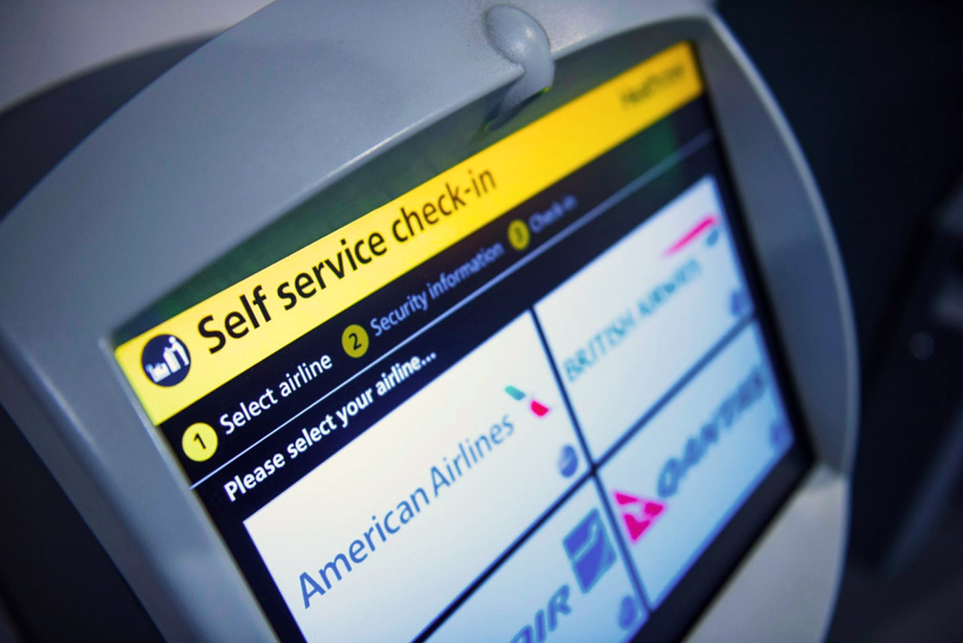 Heathrow's self service check-in