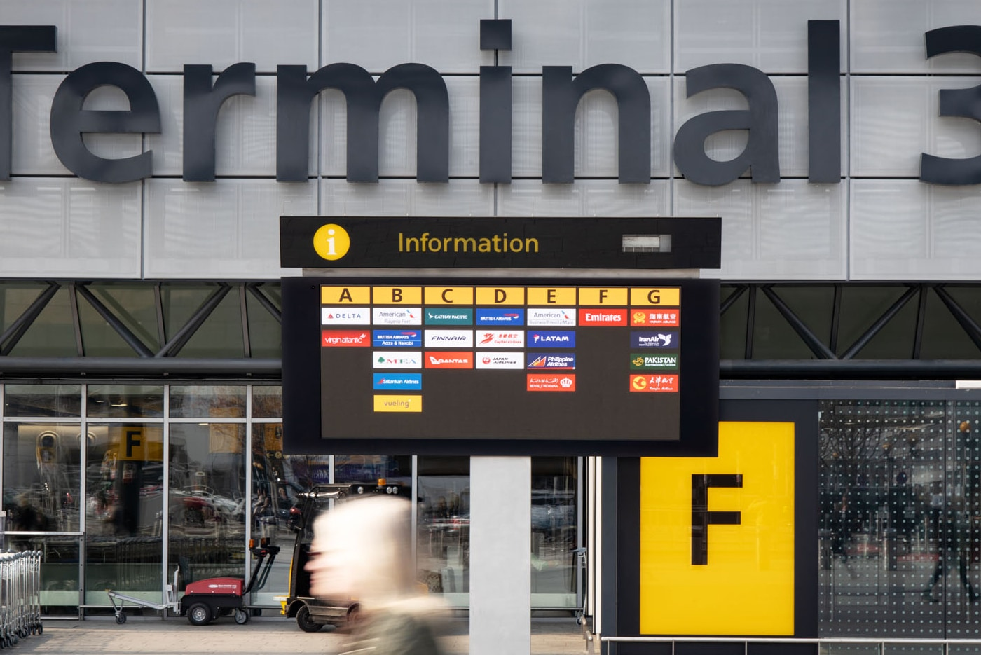 Heathrow Flight Information Displays