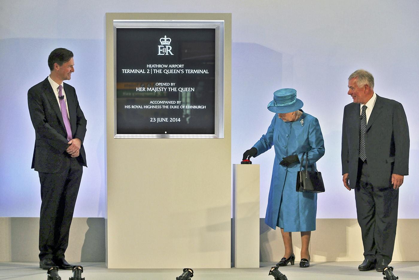 Heathrow Terminal 2 opening