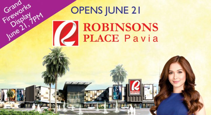Robinsons Place Pavia opening