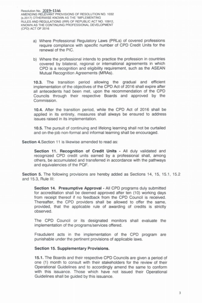 PRC CPD law IRR