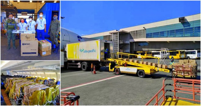 Cebu Pacific airlift support for COVID-19 response
