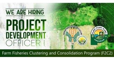 DA hiring project development officer