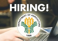 Hiring in Department of Agriculture.