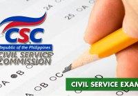 Civil Service Exam updates