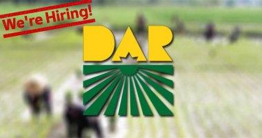 DAR Region 6 is now hiring project employees.