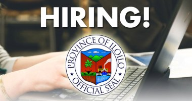 Iloilo Province hiring workers