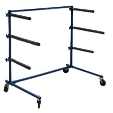 wall bumper storage rack with 4 arms