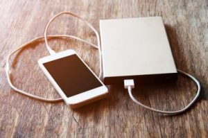 Smartphone charging with power bank