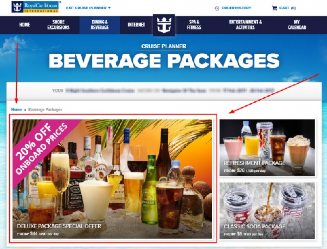Drink Packages