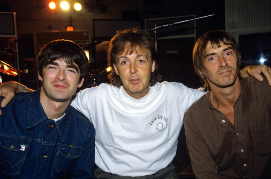 Charity Recording of Help Album as Aid for Bosnia at Abbey Road Studios, London, Britain - 1995