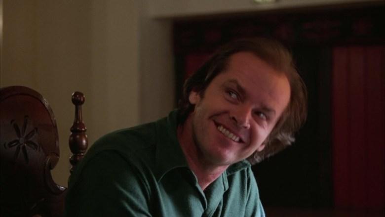 Una scena di Shining, che ha come protagonista Jack Nicholson - Frasi sul sesso degli attori e dei registi