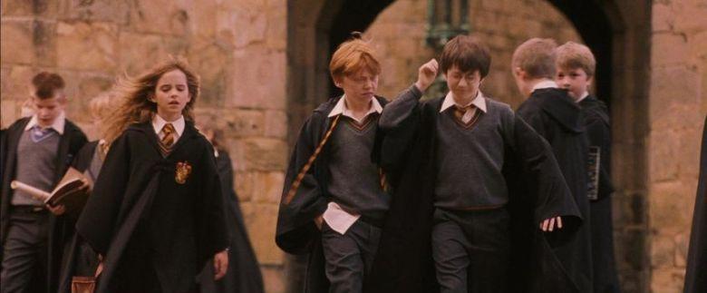 Harry Potter e la pietra filosofale frasi, citazioni e dialoghi di Chris Columbus con Daniel Radcliffe, Rupert Grint, Emma Watson, maghetti