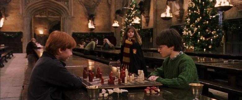 Harry Potter e la pietra filosofale citazioni e dialoghi di Chris Columbus con Daniel Radcliffe, Rupert Grint, Emma Watson, Richard Harris, Maggie Smith, Alan Rickman