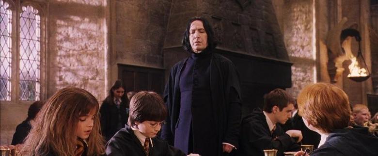 Harry Potter e la pietra filosofale citazioni e dialoghi di Chris Columbus con Daniel Radcliffe, Rupert Grint, Emma Watson, Alan Rickman, Piton