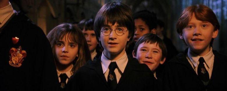 Harry Potter e la pietra filosofale citazioni e dialoghi di Chris Columbus con Daniel Radcliffe, Rupert Grint, Emma Watson, cast