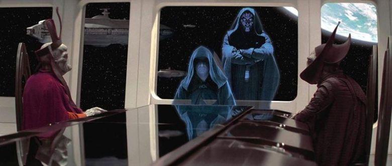 Star Wars Episodio I - La minaccia fantasma citazioni e dialoghi di George Lucas con Liam Neeson, Ewan McGregor, Natalie Portman, ologrammi